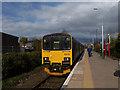 SD4108 : Ormskirk station, Preston end by Stephen Craven