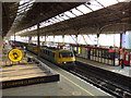 SD5329 : Electric freight through Preston  by Stephen Craven