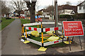 SU9876 : Roadworks, Datchet by Derek Harper