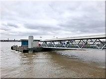 SJ3390 : Mersey Ferries terminal at Liverpool's Pier Head by Jonathan Hutchins
