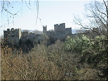 SO5074 : Ludlow Castle & St. Laurence's Church (Ludlow) by Fabian Musto
