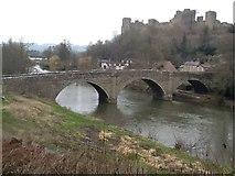 SO5074 : Dinham Bridge view (Ludlow) by DylanMusto14