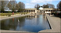 TG2007 : The lily pond in Eaton Park by Evelyn Simak