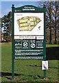 TG2007 : Information board in Eaton Park by Evelyn Simak