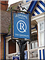 TM4977 : The Randolph Public House sign by Adrian Cable