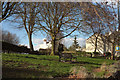 ST5873 : Small park, Montague Place, Bristol by Derek Harper
