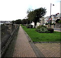 SM9005 : Brick pavement, Milford Haven by Jaggery