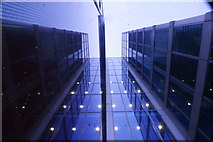 TQ2681 : Looking up at a building in the Paddington Basin by Robert Lamb