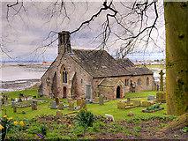 SD4161 : The Parish Church of St Peter, Lower Heysham by David Dixon