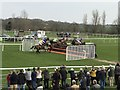 TF9228 : Five horses in the air together - Fakenham Races : Week 15