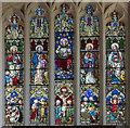 SK7790 : East window, All Saints' church, Beckingham by Julian P Guffogg