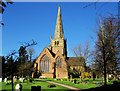 SP1579 : St. Alphege Church, Solihull. : Week 14