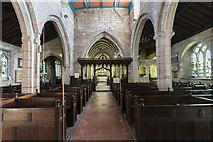 SK7288 : Interior, St Peter's church, Clayworth by Julian P Guffogg