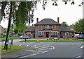 SP4977 : The Newbold Crown in Newbold on Avon in Warwickshire by Roger  Kidd