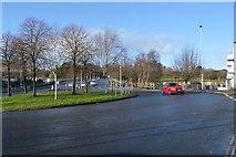 SX4654 : Roundabout, A374 by N Chadwick