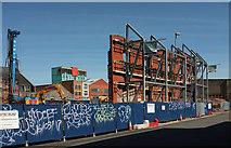 ST5973 : Surviving facades, Unity Street, Bristol by Derek Harper