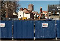 ST5973 : Building site, Bristol by Derek Harper