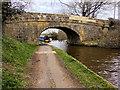 SD4664 : Lancaster Canal, Belmount Bridge by David Dixon