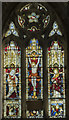 SK7288 : East window, St Peter's church, Clayworth by Julian P Guffogg