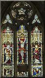 SK7288 : East window, St Peter's church, Clayworth by Julian P Guffogg