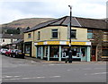 SS9597 : The Window Shop and a CCTV camera on a pole, Treorchy by Jaggery