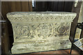 SK7288 : Tomb chest, St Peter's church, Clayworth by Julian P Guffogg