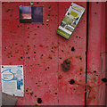 SD3187 : Notice board, Oxen Park by Ian Taylor