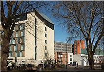 ST5973 : Hotel, pub and car park, Bristol by Derek Harper