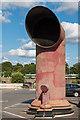 TQ2850 : Air vent, Warwick Quadrant car park by Ian Capper