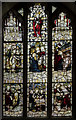 SK7887 : Window s.IV, St Martin's church, Saundby by Julian P Guffogg