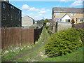 SE0935 : Footpath at Ling Bob, Wilsden by Humphrey Bolton
