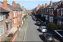 SJ4066 : Lorne Street from St Martin's Way, Chester by Jeff Buck