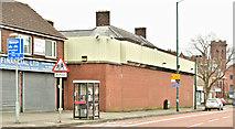 J3573 : Former Willowfield police station, Belfast - April 2018(1) by Albert Bridge