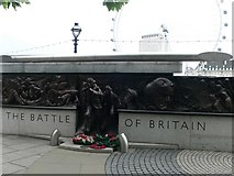 TQ3079 : Battle of Britain Memorial on Victoria Embankment by Eirian Evans