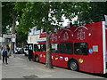 TQ3080 : London tour bus at Victoria Embankment by Eirian Evans