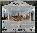 SN4119 : Maes Nott/Nott Square by M J Richardson