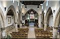 SE7804 : Interior, St Andrew's church, Epworth by Julian P Guffogg