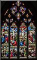 SE7804 : East window, St Andrew's church, Epworth by Julian P Guffogg
