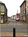 SO6303 : No Entry to Regent Street from Newerne Street, Lydney by Jaggery