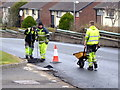 H4672 : Road works, Hospital Road, Omagh - 38 by Kenneth  Allen