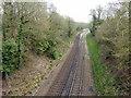 TQ7512 : Tonbridge to Hastings Railway Line by PAUL FARMER