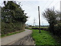 TQ7011 : Pylons from Crouch Lane by PAUL FARMER