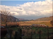 SH6856 : View north east from Cwm Farmhouse, near Capel Curig by Kate Jewell