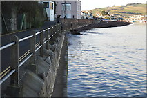 SX9372 : Shaldon Sea Wall by N Chadwick