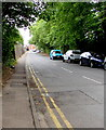 SO8554 : On-street parking, Midland Road, Worcester by Jaggery