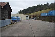 SX8059 : Works yard by N Chadwick