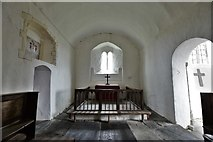 SS6744 : Parracombe, St. Petrock's Church: Extremely rare enclosed sanctuary by Michael Garlick
