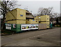 ST3188 : Mobile Mini modules, Ledbury Drive, Shaftesbury, Newport by Jaggery