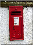 NS4371 : Postbox on Old Greenock Road by Thomas Nugent