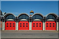 TQ6581 : Fire station, Orsett by Julian Osley